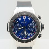 Hublot Super B Flyback Chronograph Blue Dial