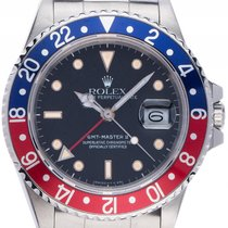 Ρολεξ (Rolex) GMT Master II Fat Lady rot blau Pepsi Stahl...