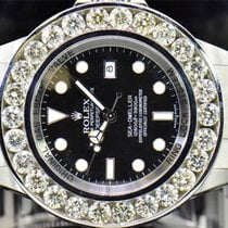 Rolex Mens  Custom Rolex 46 MM Sea Dweller Deep Sea Genuine...