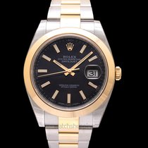 Rolex Datejust Yellow gold 41.00mm Black United States of America, California, San Mateo