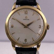 Omega vintage 1954 CALATRAVA meca gold 18ct cal 283 ref 2686