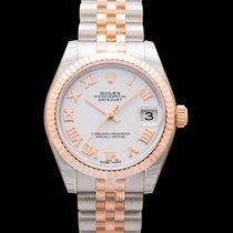 Rolex Lady-Datejust Oro rosa 31mm Blanco