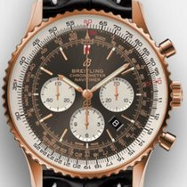 Breitling Rose gold Automatic Brown No numerals 46mm new Navitimer 01 (46 MM)