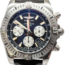 Breitling Chronomat 44 Airborne Steel 44mm Black No numerals