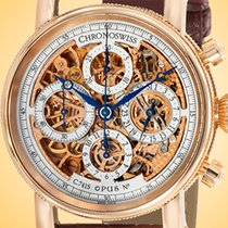 Chronoswiss Chronograph 41mm Automatic new Opus Silver