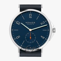 NOMOS Ahoi Atlantik Steel 40,3mm Blue