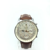 Breitling MontBrillant Stainless Steel Watch w/ Box & Booklet