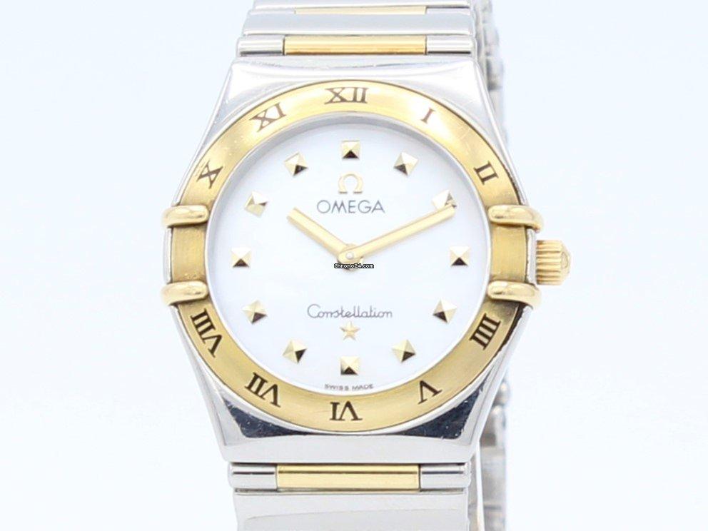 74218ff6c0 Omega Constellation Quartz Steel-Gold Lady 13717100 za Kč 31 505 k prodeji  od Trusted Seller na Chrono24