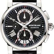 Montblanc Star 4810 Staal 44mm Zwart Romeins
