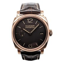 Panerai Radiomir 1940 3 Days pre-owned 47mm Red gold