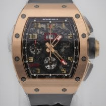 Richard Mille Rose gold Automatic Transparent Arabic numerals 50mm new RM 011