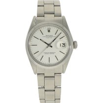 Rolex Oyster Perpetual Date Staal 34mm Wit Geen cijfers Nederland, Amsterdam