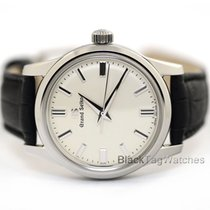 Seiko Grand Seiko Steel 37.3mm White United States of America, Florida, Aventura