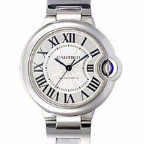 Cartier Ballon Bleu 33mm new 2019 Automatic Watch with original box and original papers W6920071