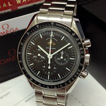 Omega Speedmaster Professional Moonwatch Steel 42mm Black No numerals United Kingdom, Wilmslow