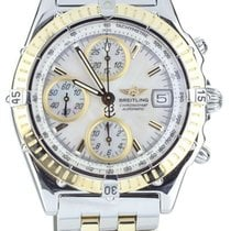 Breitling Blackbird Gold/Steel 40mm White United States of America, Illinois, BUFFALO GROVE