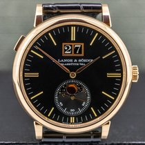A. Lange & Söhne Saxonia Rose gold 40mm Black United States of America, Massachusetts, Boston