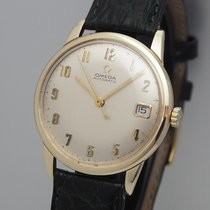 Omega Yellow gold 34mm Automatic pre-owned