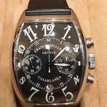 Franck Muller Casablanca Steel 50mm Black Arabic numerals