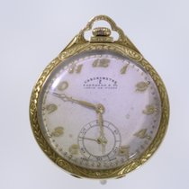 Eberhard & Co. Watch pre-owned Yellow gold 44mm Arabic numerals Manual winding Watch only