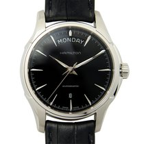 ハミルトン (Hamilton) Jazz Master Stainless Steel Black Automatic...