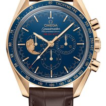 Omega 311.63.42.30.03.001 Yellow gold 2017 Speedmaster Professional Moonwatch 42mm new