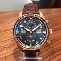 IWC Red gold Automatic pre-owned Pilot Spitfire Perpetual Calendar Digital Date-Month