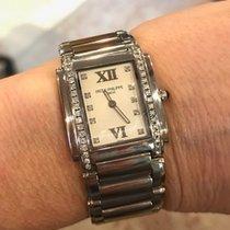 Patek Philippe 4910/10A Ladies' Twenty~4, Steel, White Dial