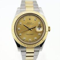 Rolex Χρυσός / Ατσάλι 41mm Αυτόματη 116333 chdo μεταχειρισμένο