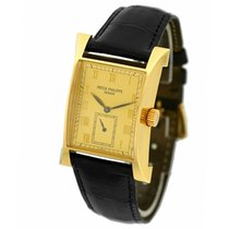 Patek Philippe Pagoda Yellow gold 29mm Gold Roman numerals