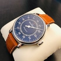 Meistersinger 43mm Automatic pre-owned Perigraph Blue