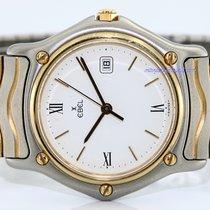 Ebel Sportwave Gold/Steel 31mm White Roman numerals