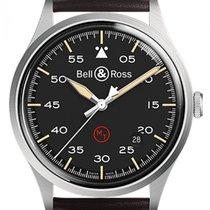 Bell & Ross BR V1 BRV192-MIL-ST/SCA Neu Stahl 38.5mm Automatik