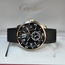 Cartier Calibre de Cartier Diver pre-owned 42mm Gold/Steel