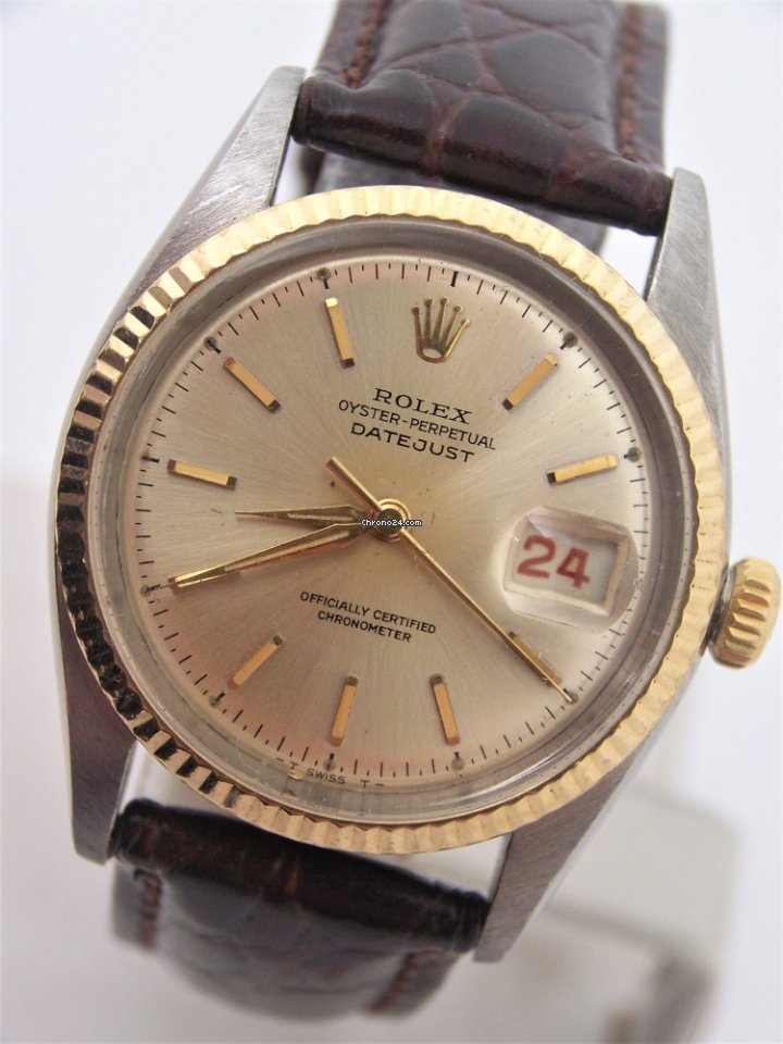 Porsche Pre Owned >> Rolex Vintage S/Steel & 18k Bubble Back Automatic Watch Ref... for $6,999 for sale from a ...