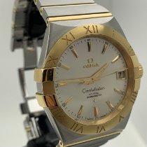 Omega Constellation Men gebraucht 38mm Gold/Stahl