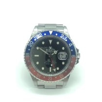 Rolex 16710 Staal 2003 GMT-Master II 40mm tweedehands