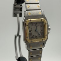Cartier Santos (submodel) gebraucht 24mm Gold/Stahl