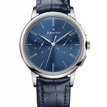 Zenith Elite Chronograph Classic Steel Blue United States of America, Florida, North Miami Beach