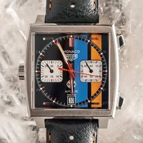 TAG Heuer Monaco Calibre 11 Steel 39mm No numerals United States of America, Florida, Hollywood