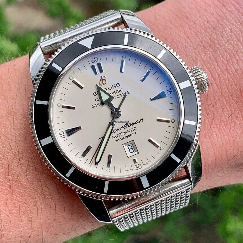Breitling Superocean Heritage A1732024 Automatic Steel W/ Box And Papers