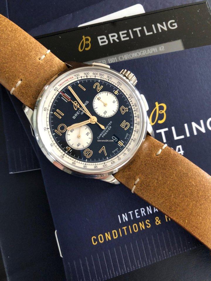 Breitling AB0118A21B1X1 2021 new