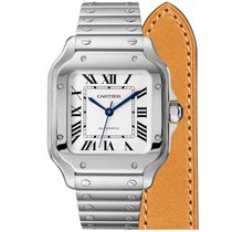 Cartier Steel 35mm Automatic WSSA0010 new