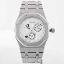 Audemars Piguet 26120ST.OO.1220ST.01 Steel 2012 Royal Oak Dual Time 39mm pre-owned
