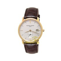 Frederique Constant Slimline Gents FC-245V4S5 Frederique Constant Slimline Small Seconds 37mm new