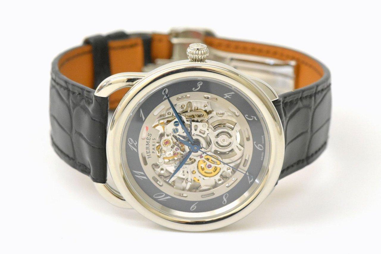 low cost 743d2 cca6a Hermès エルメス AR6.710 アルソー スケルトン 腕時計 AT ...