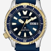 Citizen Steel 42mm Automatic PROMASTER FUGU NY0096-12L new