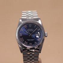 Rolex Datejust Stahl 36mm Blau Deutschland, Hamburg