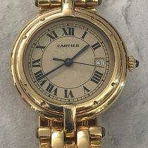 Cartier Panthère Жёлтое золото 30mm Белый