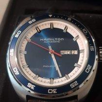 Hamilton Pan Europ Acier 42mm Bleu Sans chiffres France, Aubiere